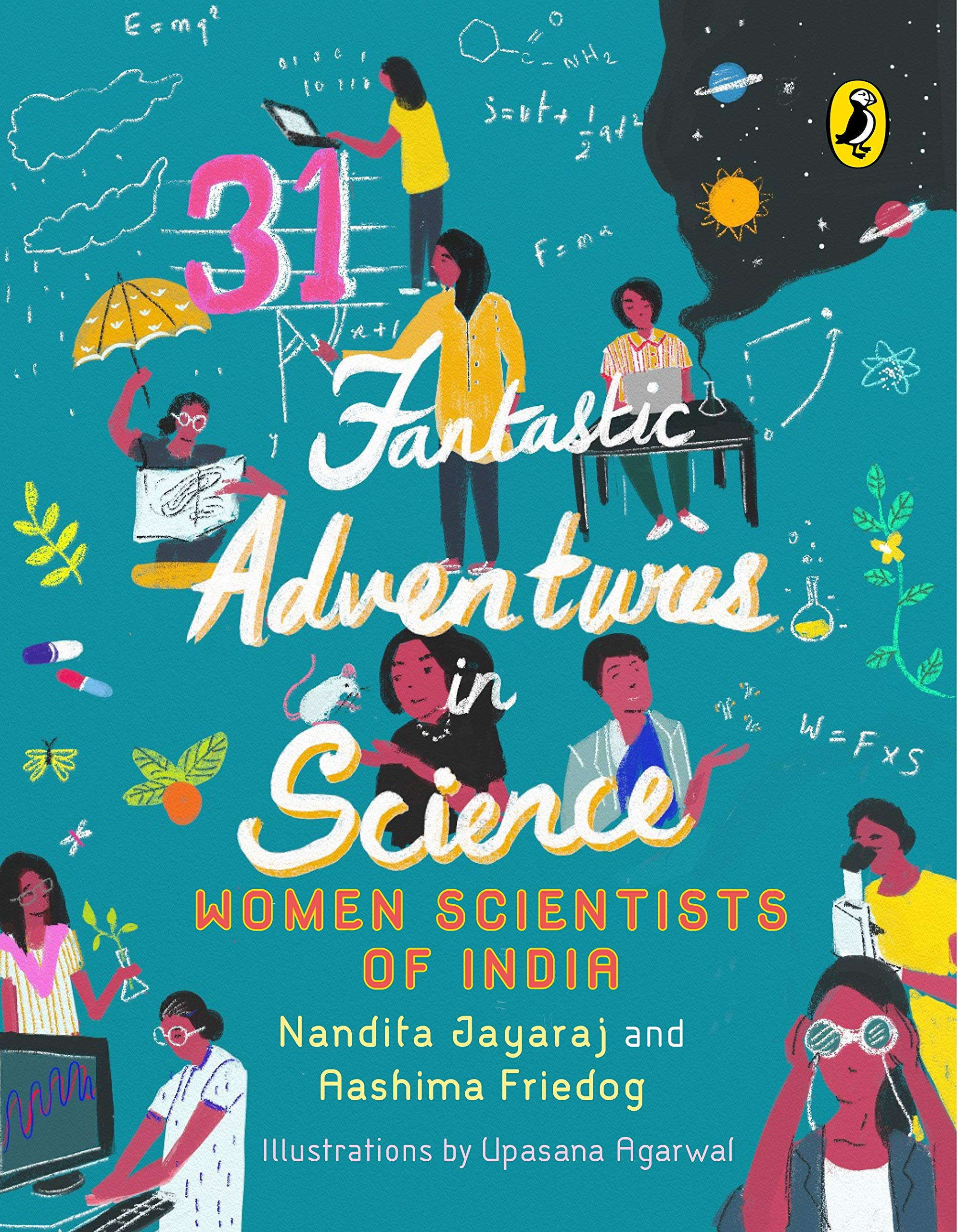 """Front cover of the book """"31 Fantastic adventures in science"""""""